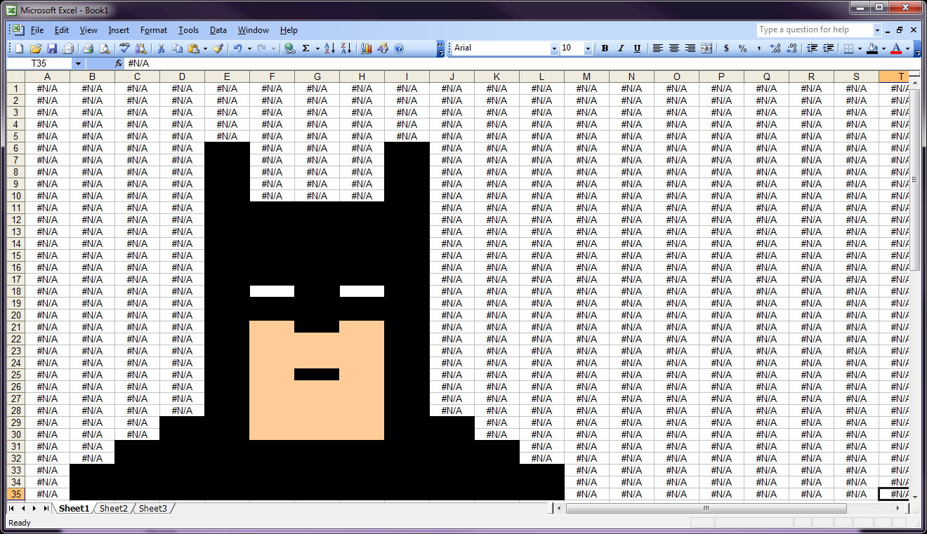 Spreadsheet Batman