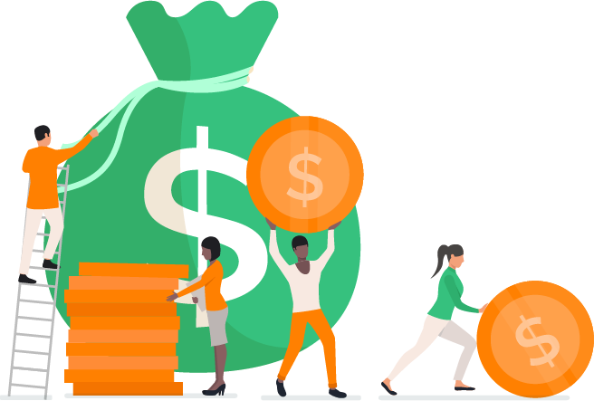 Affluent Affiliate Program Money Bag
